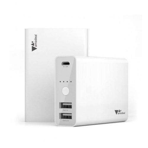 Aukey 9000 mAh power bank, fehér (bontatlan)