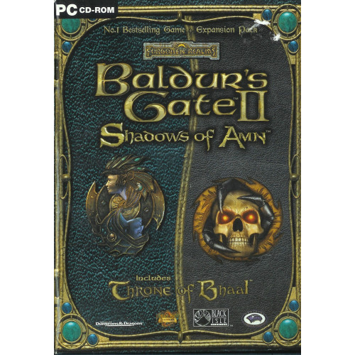Baldur's Gate 2 Shadows of Amn + Throne of Bhaal Expansion (bontatlan)