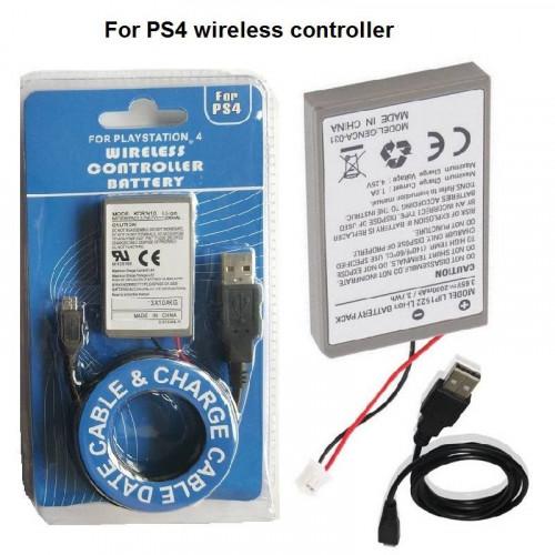 Playstation 4 kontroller akkumulátor 2000mAh (bontatlan)