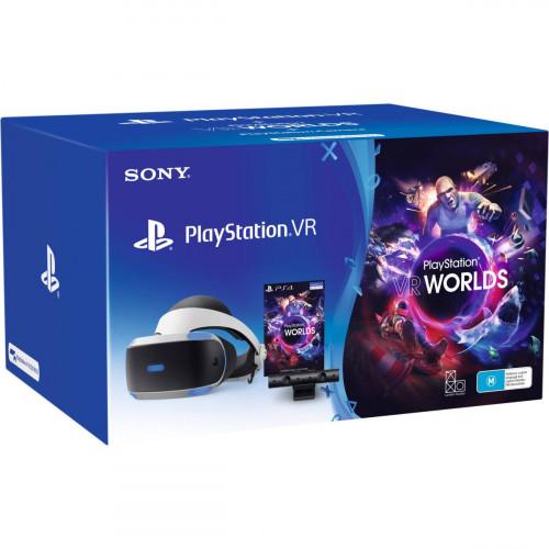PlayStation VR Headset + Kamera V2 + VR Worlds Bundle (Bontatlan)