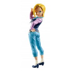 Banpresto Dragon Ball Super: SCultures Big Budoukai 6 - Android No. 18 (Vol.1) szobor (bontatlan)