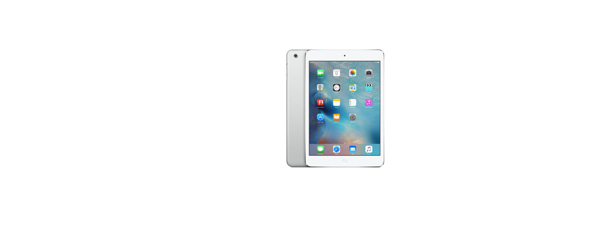 iPad ezüst